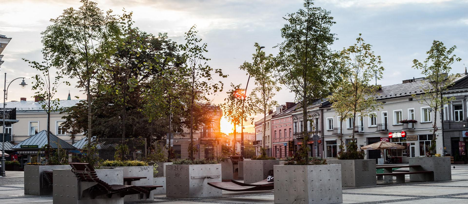 salon miejski Kielce sposob ustawienia